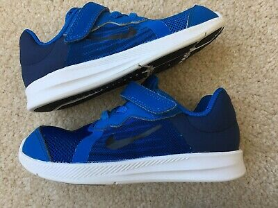 dfeeb06223 NIKE FLEX CONTACT Toddler Boys Size 10 C Athletic Blue Shoes ...