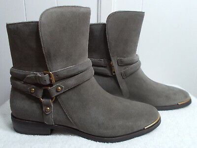 3065a949be0 UGG KELBY MOUSE Gray Buckle Boots/booties, Women'S 7.5, New - $74.99 ...