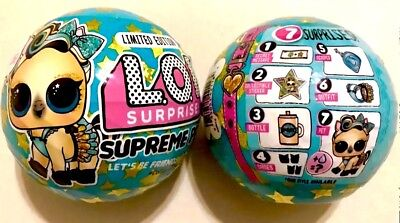 LOL Surprise Supreme Pet 24k Gold Luxe Doll Pets Lucky Pony Ball Limited Edition