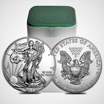 2015 American Silver Eagle BU 1 oz Coin US $1 Dollar Uncirculated Brilliant *015