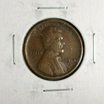 1914-S Lincoln Wheat Cent ~ Vf+ Nice Coin
