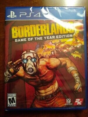 Borderlands - Game of the year edition, PS4, brand new