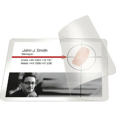 Pelltech Self-Laminating Cards 54x86mm (Pack of 100) PLG25230