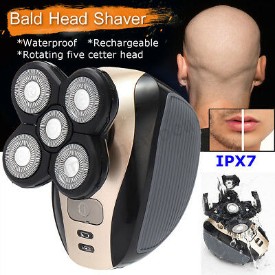 2 in 1 Washable Rotary 3D Rechargeable Men's Cordless Electric Shaver Razor New