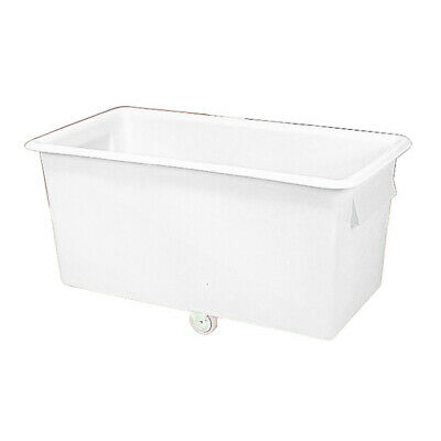 White Tapered Sides Food Grade 340 Litre Truck Container 1219x610x610mm 316354