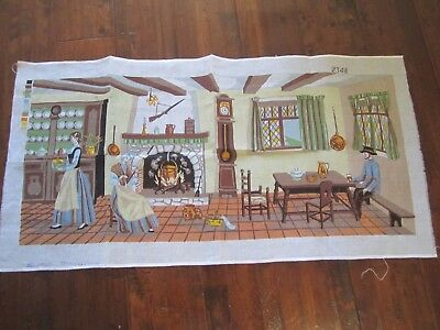 Needlepoint Tapestry Homestead made in France