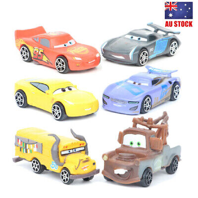 Cars Lightning McQueen Mater Jackson 6 PCS Cars Action Figure Toys Kids Gifts AU