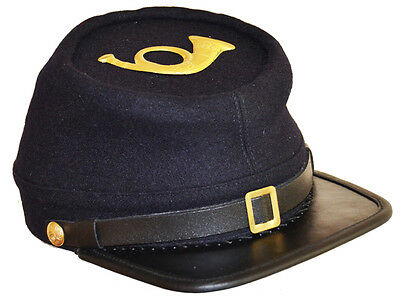 American Civil War Enlisted Union Infantry Kepi Cap Hat & Badge 60/61cm XLarge