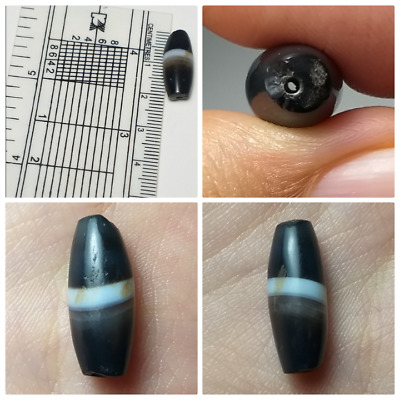 Very nice old agate evil protector bead