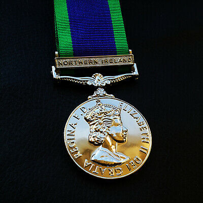 The General Service Medal Northern Ireland Medal 1962 Campaign service Repro