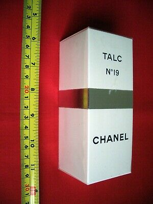 VINTAGE CHANEL No 19 SEALED TALC 100 gms NEW SEALED UNUSED - 1970 's Pre Barcode
