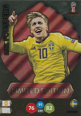Emil Forsberg Limited Edition *World Cup 2018 Russia*Panini Adrenalyn Xl