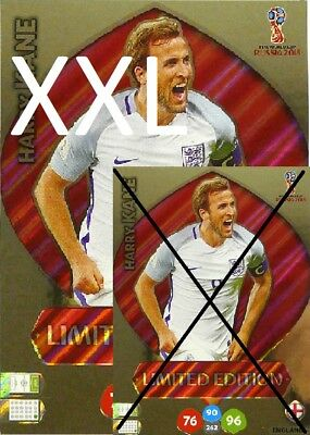 Harry Kane Xxl Limited Edition *World Cup 2018 Russia*Panini Adrenalyn Xl