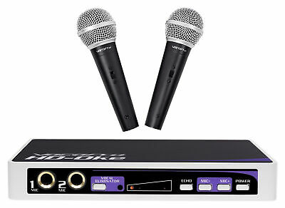 VOCOPRO HD-OKE Dual Microphones w/ Karaoke Interface+Mic Mixer+HDMI