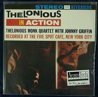 THELONIOUS MONK IN ACTION ANALOGUE PRODUCTIONS 180g 45rpm 2LP #0137 SEALED