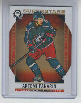 18/19 OPC Coast to Coast Columbus Blue Jackets Artemi Panarin Superstars #104