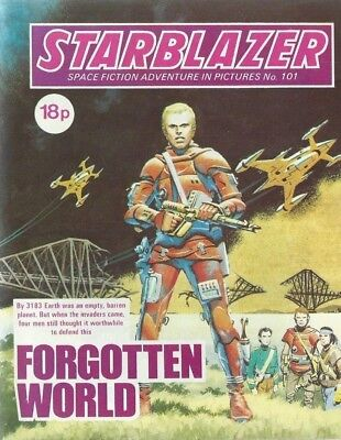The Gate To Yesterday,starblazer Space Fiction Adventure In Pictures,comic,no.95