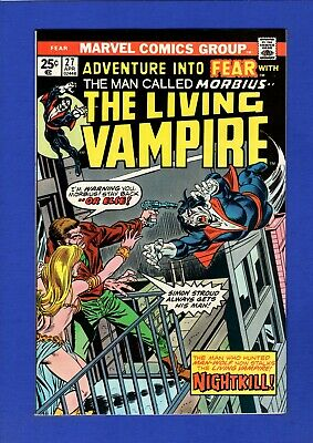 Adventure Into Fear #27 Nm 9.4 High Grade Bronze Age Marvel Early Morbius