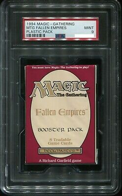 Graded Sealed Fallen Empires Booster Pack Magic the Gathering PSA 9 MtG
