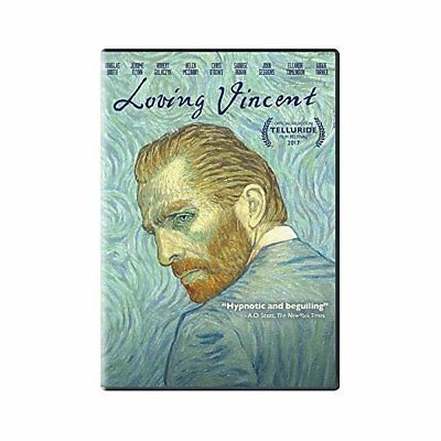 Loving Vincent, Molto Bello DVD , Aidan Turner,Helen Mccrory,Douglas Booth,