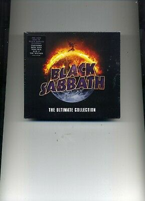 Black Sabbath - The Ultimate Collection - 2 Cds - New!!