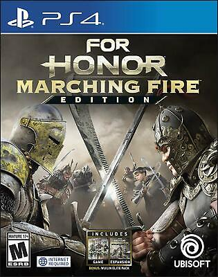For Honor Marching Fire Edition (PlayStation 4) PS4