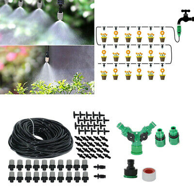 Outdoor Mist Coolant System Water Sprinkler Garden Patio Mister Cooling Spray