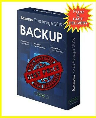 Acronis True Image 2019 🔑 Lifetime Activation🔑 Fast Delivery 📥