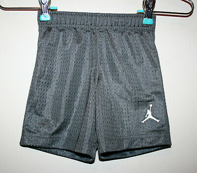 55fb15a618f NEW Toddler Boys Michael Air Jordan Gray Basketball Athletic Shorts 2-3 3T  NWT