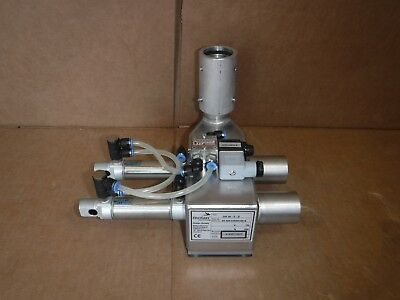 Motan Pneumatic Hopper Vacuum Loader Receiver Injection Valve Dm38-0-D