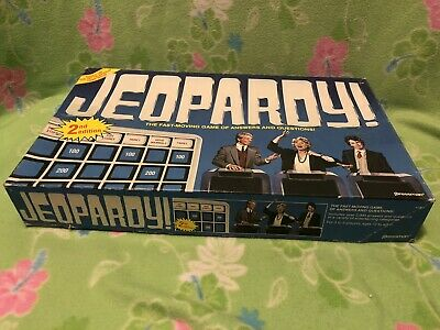 JEOPARDY BOARD GAME - 2nd edition - about 1986 #5454