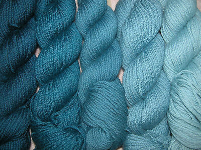 Old Blue Family ~ New Paternayan Wool 3ply Persian Yarn Needlepoint Crewel