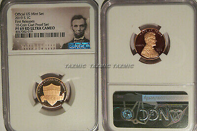 2019 S Proof Lincoln Shield 1c NGC PF 69 RD Ultra Cameo First Releases