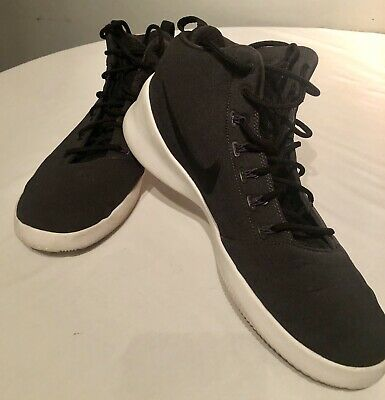 c74205124 EUC Nike Hyperfr3sh Mens 759996-003 Anthracite Off Court Shoes Sneakers  Size 13