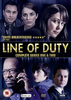 Line of Duty: Complete Series 1 & 2 [DVD] - DVD  AELN The Cheap Fast Free Post