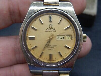 Vintage Omega Seamaster Cosmic 2000 Automatic Press In Men S