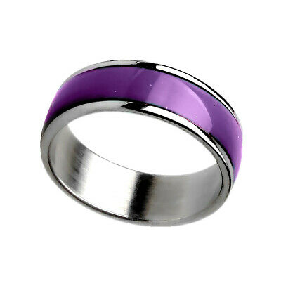 Kids Adult Magic Temperature Emotion Feeling Mood Ring Band size 7-11