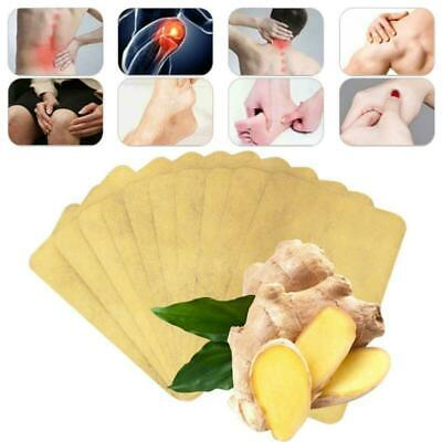 10pcs Herbal Ginger Patch Body Detox Neck Knee Pad Pain Relief Health Care