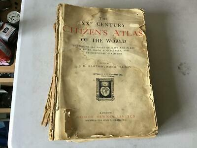Old Citizens Atlas Of The World