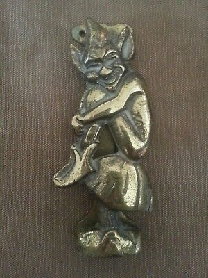 Pixie Brass Door Knocker Cornish Pixie Imp Door Knocker