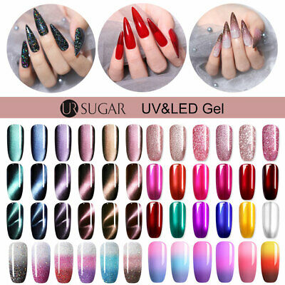 UR SUGAR Soak-Off UV Gellack Nagellack Magnetic Thermal Gel UV LED 5/7.5/15ML