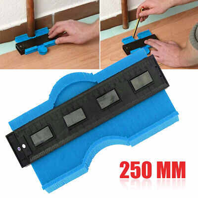 0-250mm Contour Copy Duplicator Tiling Laminate Frame Shape Profile Gauge Tool