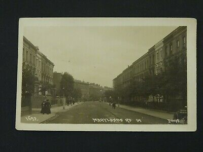 Real Photo/Postcard-P/C - Marylands Road - Maida Hill/Vale London W9