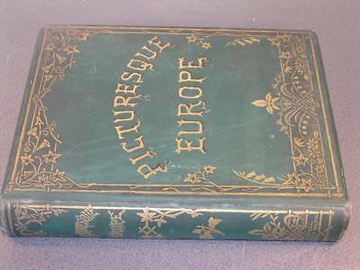 Picturesque Europe The British Isles Cassell Petter & Galpin Steel Engravings