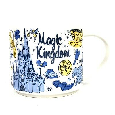 Starbucks Disney Magic Kingdom Been There Series Collection Coffee Mug Cup 14oz