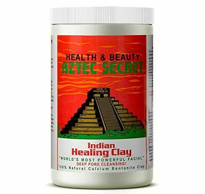 2 lb - Indian Healing Clay | Facial & Body Mask Deep Pore Cleansing