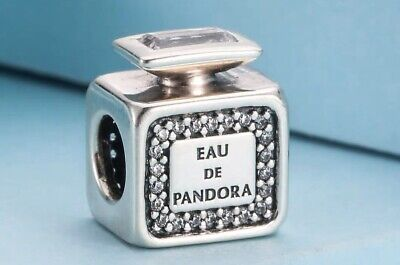 Authentic Pandora Signature Scent Sterling Silver Charm #791889 #3