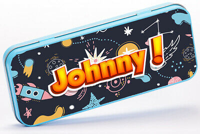 Personalised Pencil Case SOLAR SYSTEM School Stationary Childrens Gift SH240