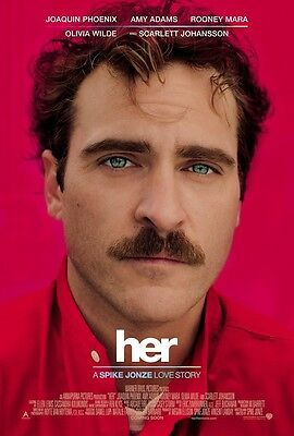 Her movie poster - Joaquin Phoenix poster - 11 x 17 inches