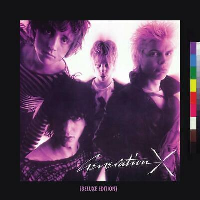 GENERATION X GENERATION X DELUXE 2 CD EDITION (Released Friday April 26th 2019)